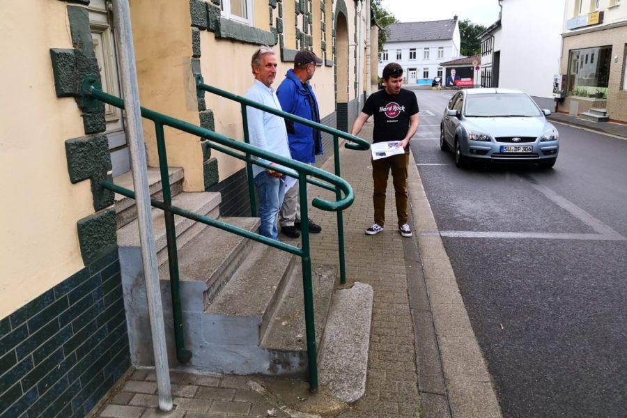 Ortsbegehung L471 in Altendorf und Ersdorf zur Vorbereitung der Bürgerbefragung
