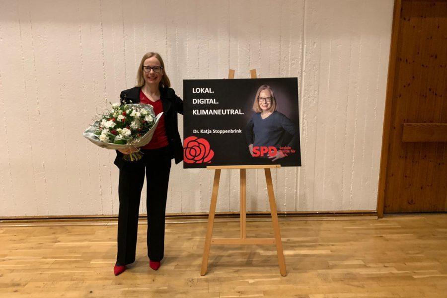 Katja Stoppenbrink als Bundestagskandidatin nominiert